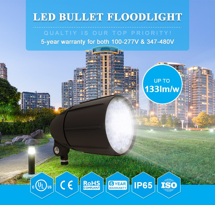 Green Inova Released New LED Bullet Floodlight/LED Landscape Light/LED Garden Floodlight