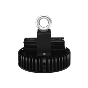 100W High Bay LED Lights UFO High Bay industrial LED lighting warehouse lighting fixtures 140-150lm/w available with Aluminum reflector or Acrylic lens Black/white (3HBA Series)