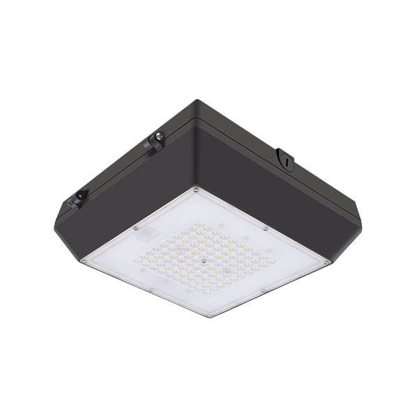 40W LED Canopy Light Garage Light High Output Gas Station Light IP65 140lm/w (6CP Series) Featured Image