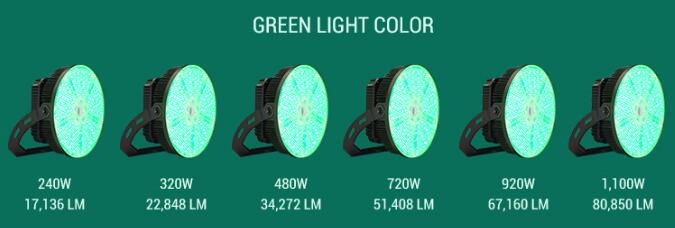 GREEN Fishing Light