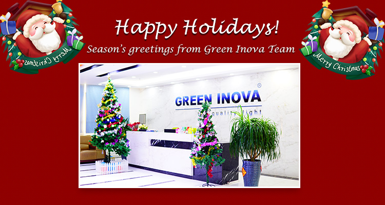 Happy Holidays from Green Inova!
