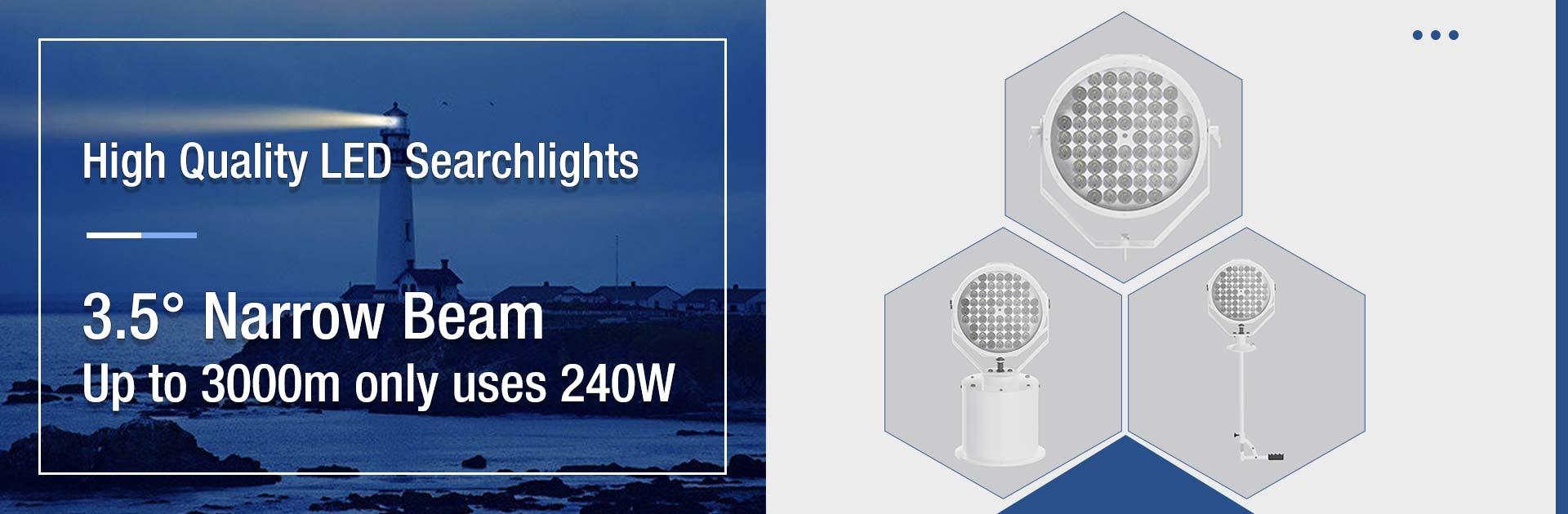 Super Bright LED Searchlight