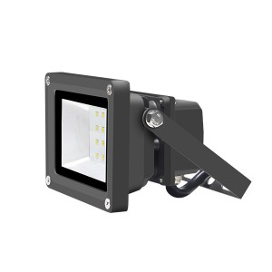 "15W LED Flood Light Square Small Floodlight Fixtures IP65 Waterproof Beam Angle 100° (NEMA 6H x 5V) UL/cUL Listed ½"" NPT Connection Optional (2FL Series)"