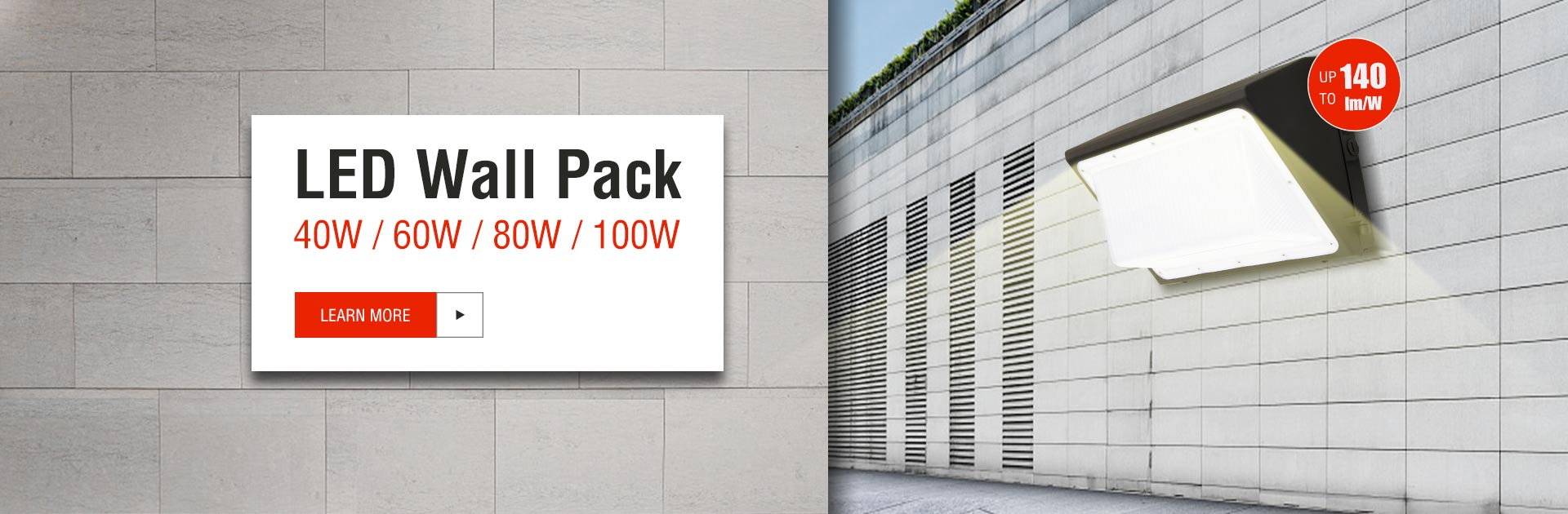 Green Inova Launches New LED Wall Pack