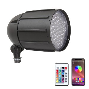 RGBW LED Spot Light/LED Garden Floodlight 30W