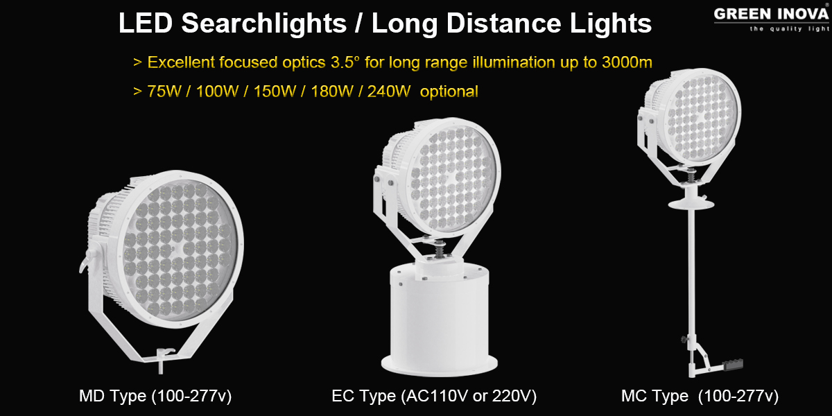 WHY YOU SHOULD CONSIDER LED SEARCHLIGHTS?